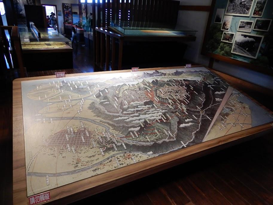 阿里山の鳥瞰図