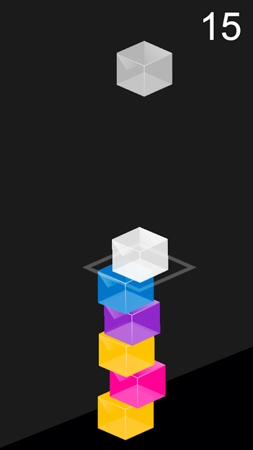 Color Tower - Falling Boxes- screenshot