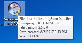 Setup ImgBurn Software