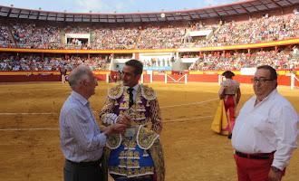 1ª corrida de toros Feria de Roquetas
