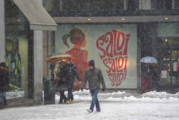 saldi sotto la neve di -----