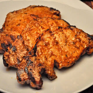 Grilled Chili Chops.
