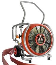 Photo: Ventilátor na vodní pohon od společnosti Leader.