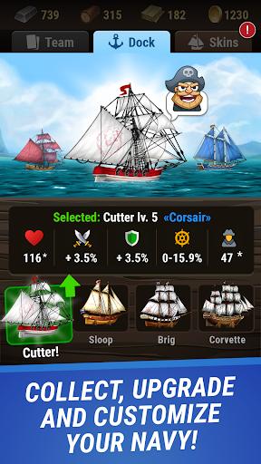 Pirates & Puzzles - PVP League apkmr screenshots 12