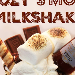 Boozy S'mores Milkshake for Two with Chila 'Orchata Cream Rum