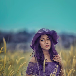 febri 54 by Deny Prasetiyo - People Portraits of Women