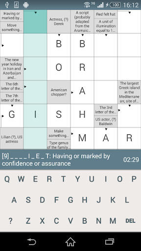 Crosswords CW-2.2.0 screenshots 2