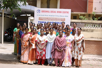 Photo: Our trainees at the CTC-GOODWILL