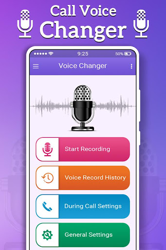 Call Voice Changer Male to Female 1.4 screenshots 1