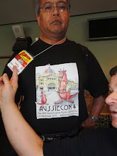 Photo: Larry's great T-shirt