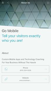 WaM Biz App screenshot