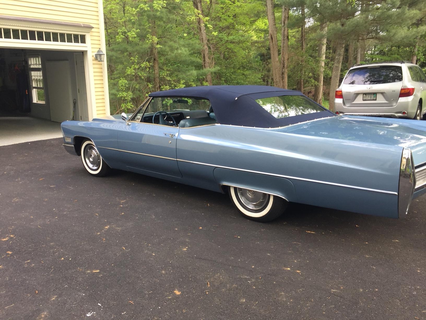 Cadillac Coupe Deville Convertible Hire Needham