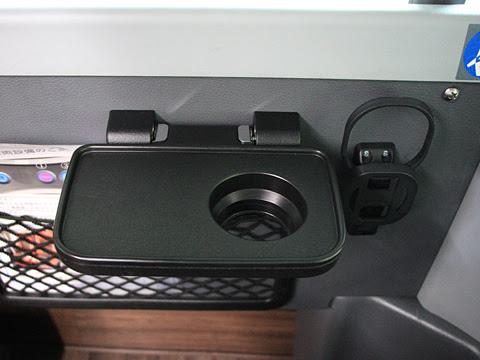 岩手県北自動車「盛宮106特急」 2階席 小型テーブル