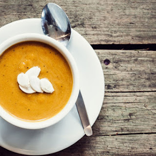 Roasted Pumpkin-Apple Soup
