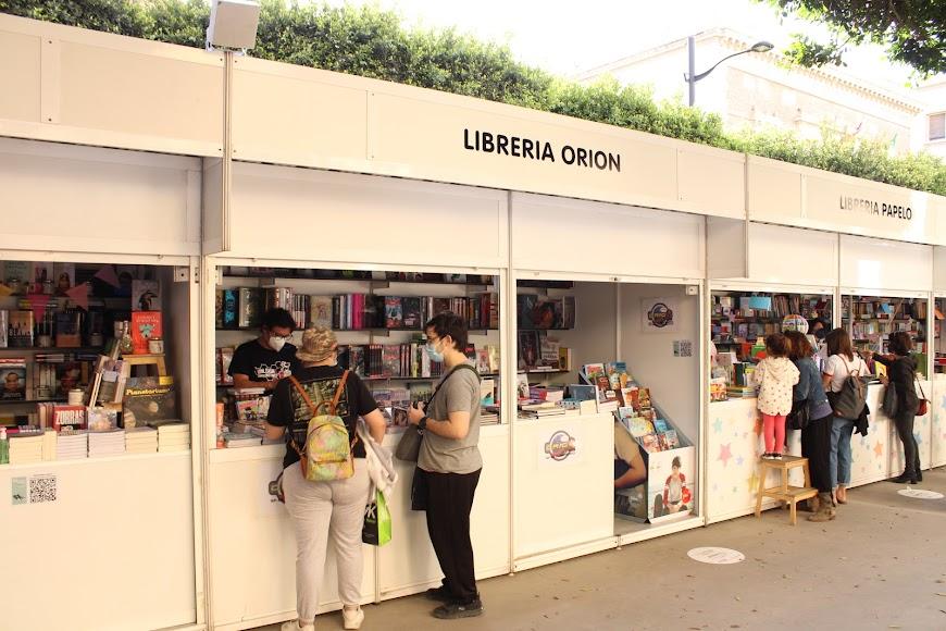 Stand Librería Orion.