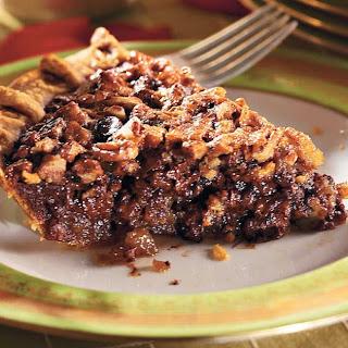 Chocolate-Bourbon Pecan Pie Southern Living