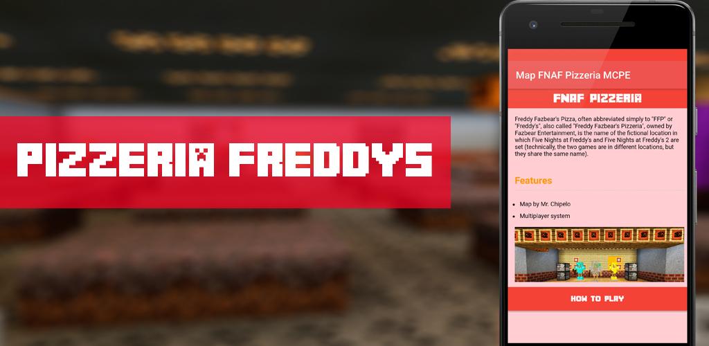 Download Map Freddys Pizzeria FNAF MCPE APK latest version