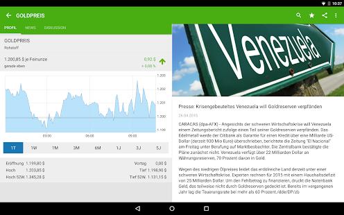 Börse & Aktien - BörsennewsApp - screenshot thumbnail