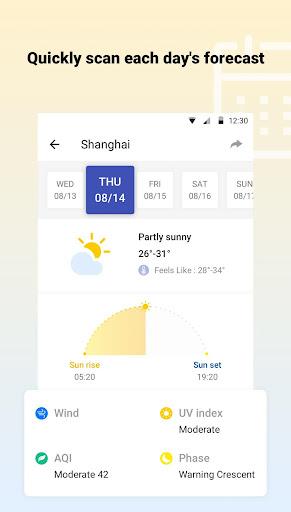 توقعات الطقس - الطقس العالمي رادار دقيق screenshot 3