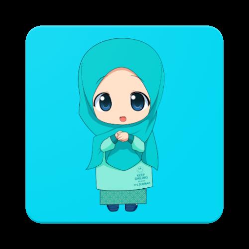 4500 Koleksi Gambar Kartun Muslimah Sedih Dan Kata Kata Gratis