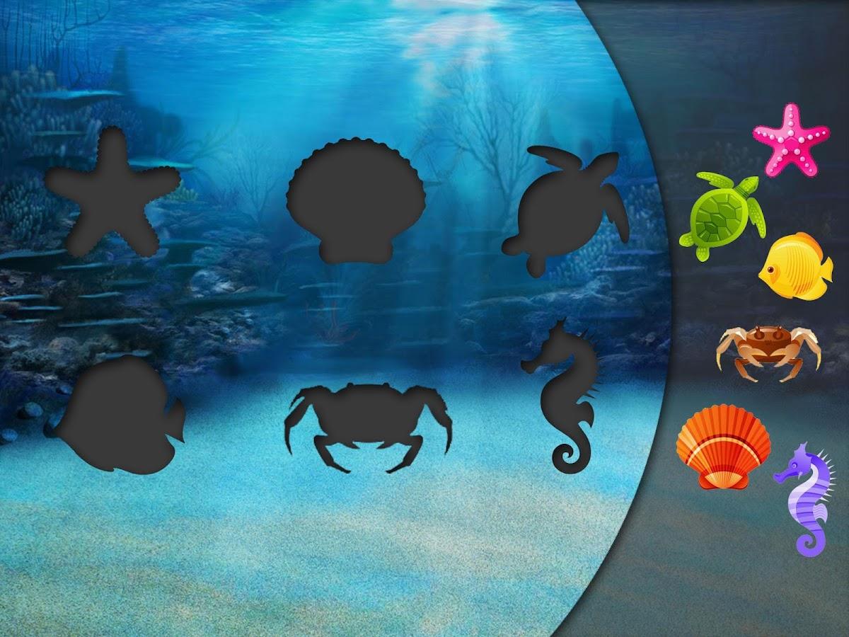 Puzzles para ni os marinos aplicaciones de android en - Puzzles para ninos pequenos ...