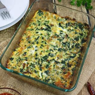 Kale Egg Breakfast Bake.