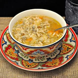 Turkey Rice Soup.