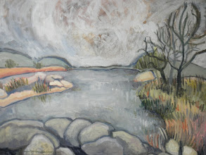Photo: Rick's River Completed 3/20/2011 Oil on canvas
