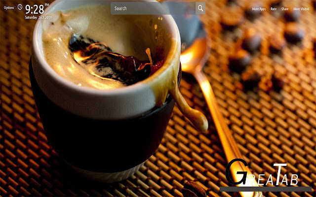 House of Coffee Wallpapers Theme  GreaTab
