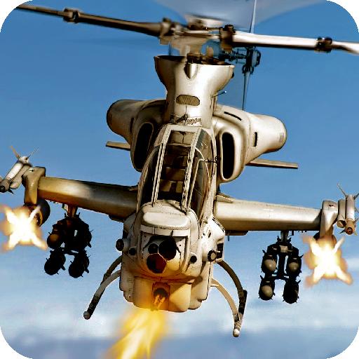 隐形武装直升机粉碎战争游戏 動作 App LOGO-APP試玩