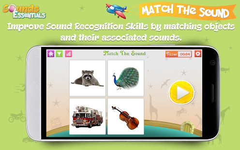 Sounds Essentials - Learn and Identify Sounds- screenshot thumbnail