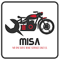 MISA-Yamaha Bike Service App icon