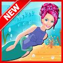 Mermaid Shark Attack : Girl Game icon