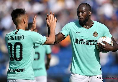 """Le duo de choc de l'Inter: """"Avec Romelu Lukaku, on commence à se connaître"""""""