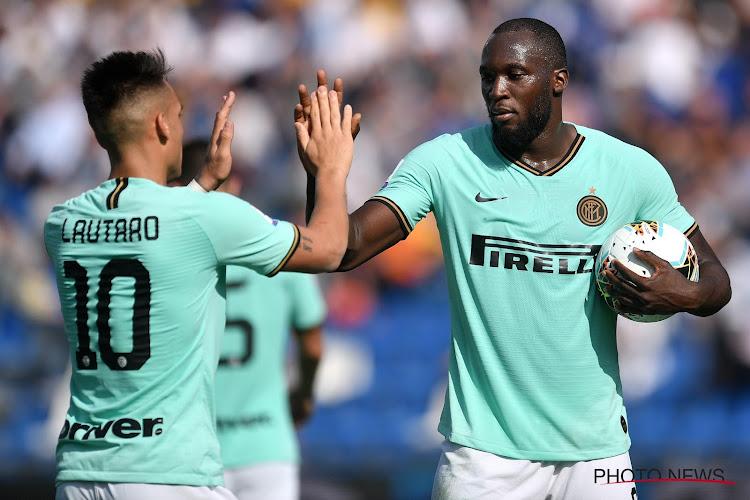 🎥 Inter springt (even) over Juventus dankzij twee late goals van Lukaku