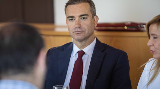 Amós García Hueso, secretario general de la Agencia de Agricultura de la Junta