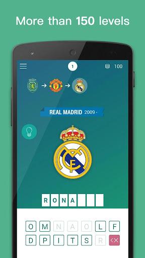 Guess The Footballer By Club. Football Quiz 2019  captures d'écran 1