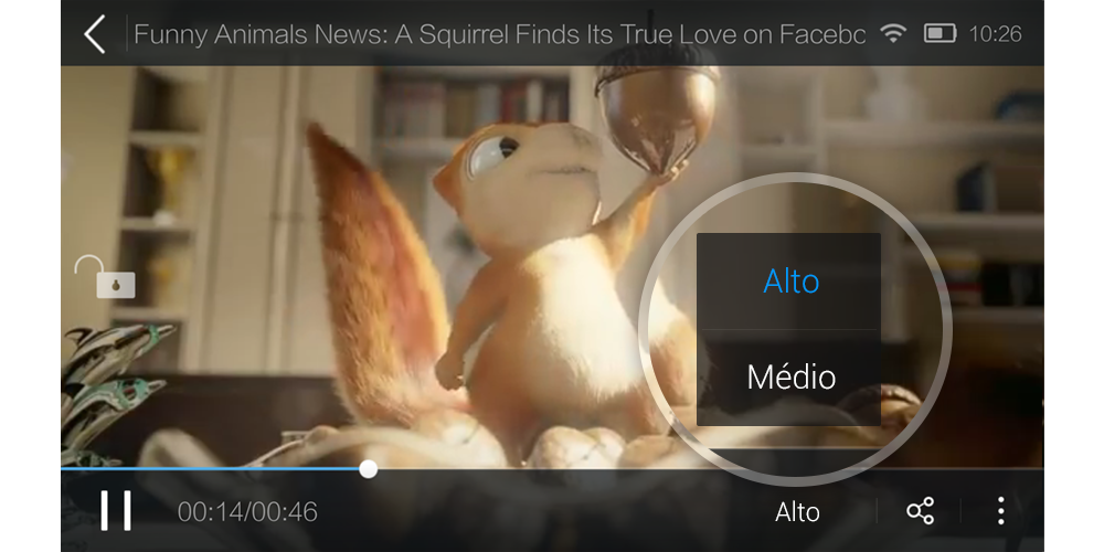 UC Browser - Navegador: captura de tela