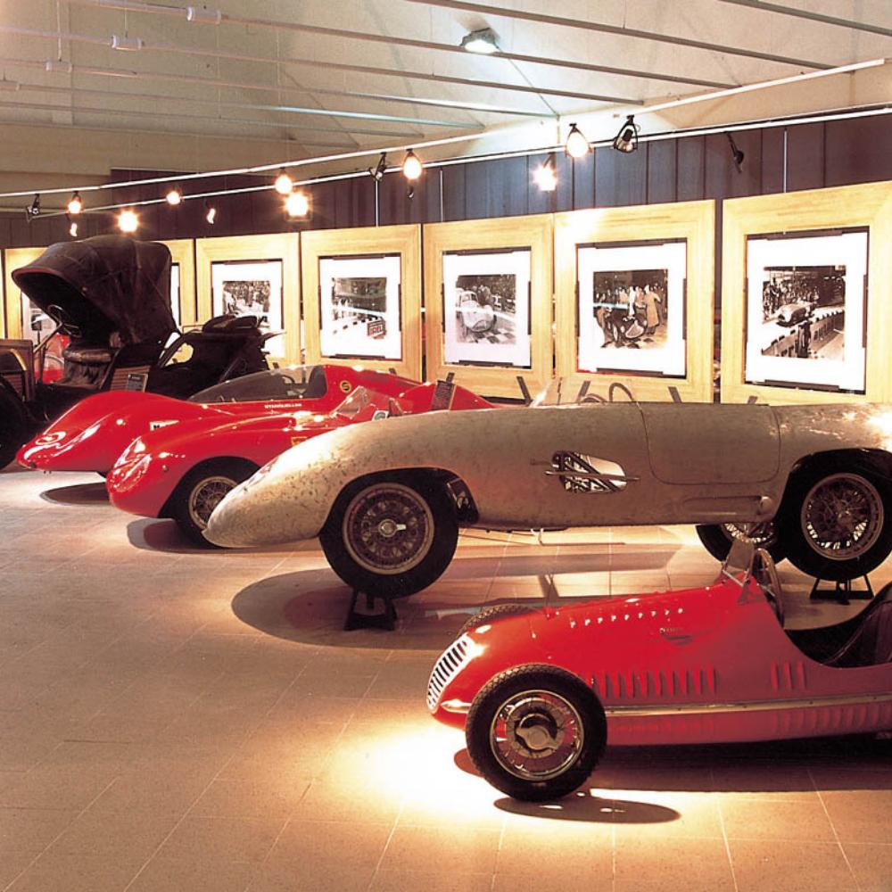 Stanguellini car models in Modena