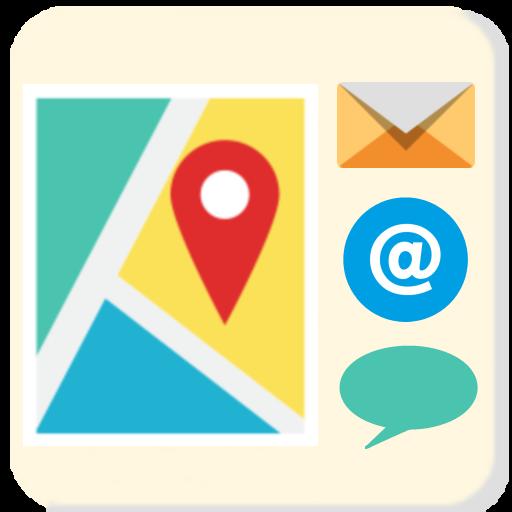 我的位置地圖 - 發送 生活 LOGO-玩APPs