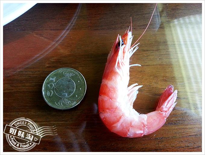 小紅食堂清蒸活跳蝦