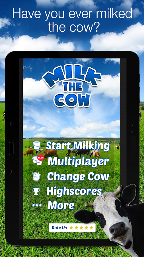 Milk The Cow- screenshot
