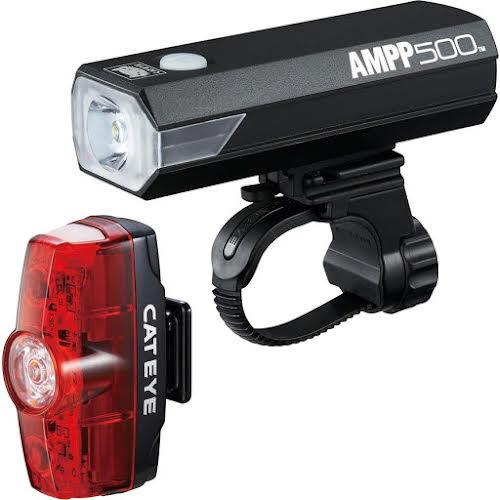 CatEye AMPP 500 Headlight and Rapid Mini Taillight Set