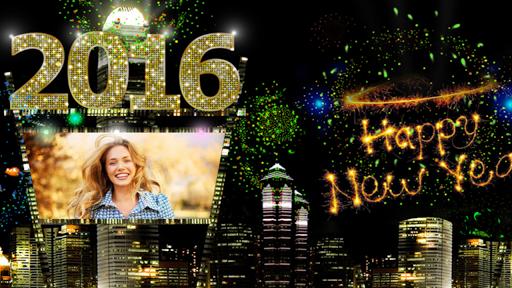 New Year Photo Frame 2016