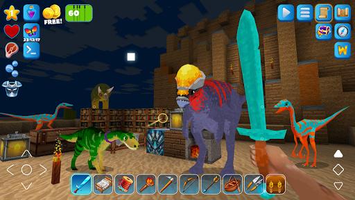 RaptorCraft 3D: Survival Craft u25ba Dangerous Worlds 5.0.4 screenshots 3