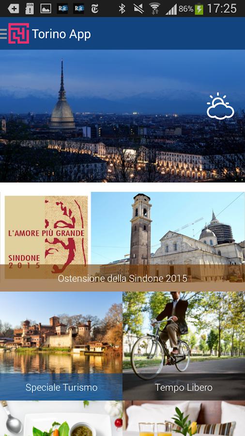 Torino App - screenshot