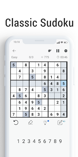 Sudoku - Free Brain Training Puzzle screenshot 1