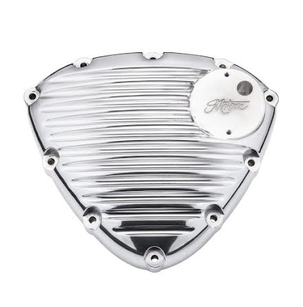Finned Timing/Stator Cover - Polish