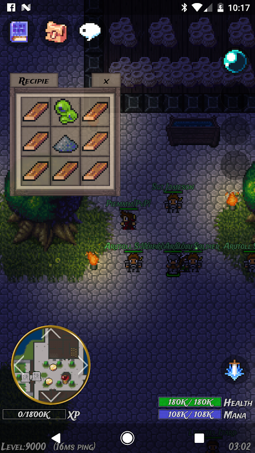 WinterSun MMORPG (Retro 2D)- screenshot