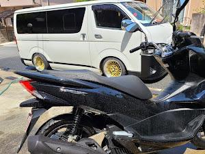 ハイエース TRH200V SUPER GL 2018年式のカスタム事例画像 keiji@黒バンパー愛好会さんの2021年04月21日10:51の投稿